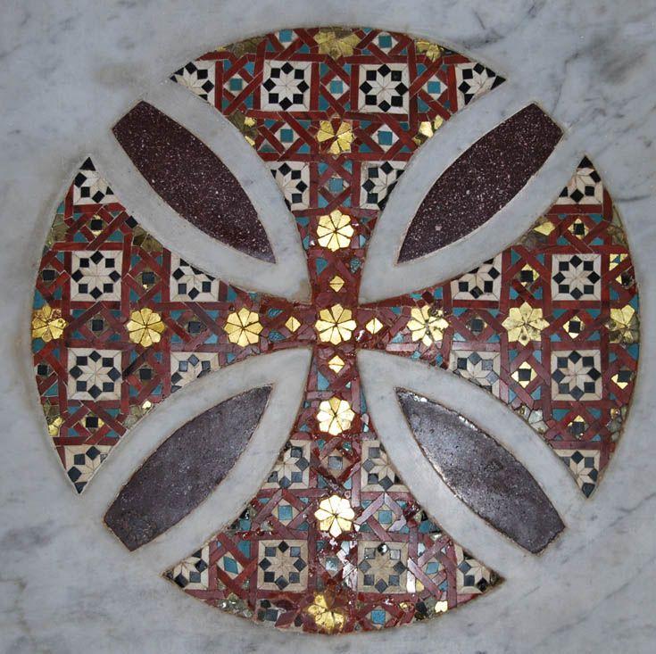 ВИЗАНТИЯ В КАРТИНКАХ - Орнаментальные мозаики Палатинской капеллы, Палермо