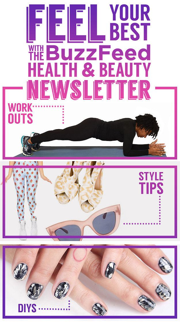 Feel Your Best With BuzzFeed's Health & Beauty Newsletter!