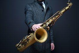 Saxofón, Sax, Jugador, Músico