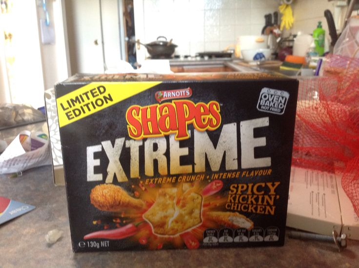 Oh, these are just marvellous, Spicy Kickin' Chicken! Again, Limited Edition Shapes!