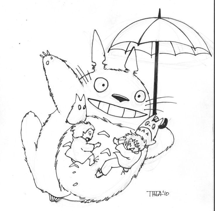 free coloring pages totoro popular japanese | 107 best Studio Ghibli Coloring Pages images on Pinterest ...