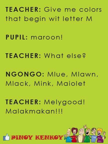Jokes, Pinoy Joke