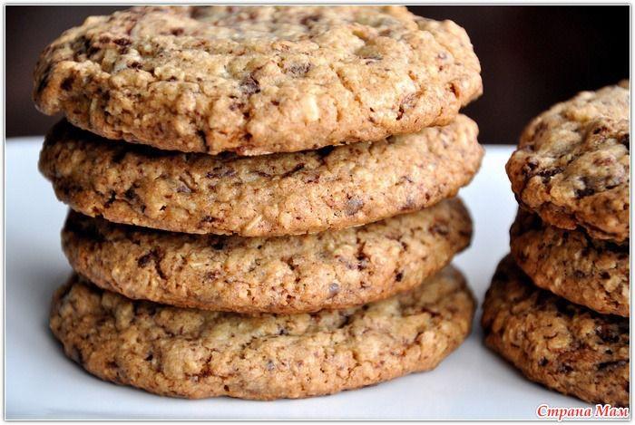 Наш любимый рецепт овсяного печенья!