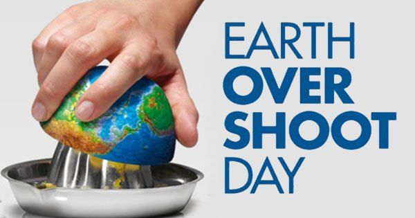 Earth Overshoot Day Fell On August 13th This Year - Explore like a Gipsy, Study like a Ninja