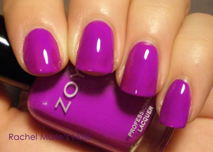 Zoya Charisma: Super loud fuchsia, dries matte but a glossy top coat takes care of that. Perfect summer pedicure color.