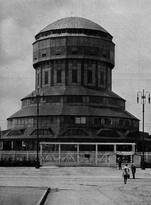 'Market Hall', Esilo, Poland  ::  designed by Hans POELZIG (1869-1936) - German architect