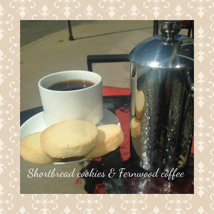 A highly recommended staff favorite is our shortbread cookie. They're buttery and sweet and pair perfectly with a cup of Fernwood coffee