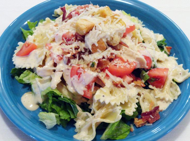 Chicken Caesar Pasta SaladTasty Recipe, Fun Recipe, Caesar Pasta Salad, Pinch Recipe, Chicken Ceasar, Chicken Caesar, Favorite Recipe, Pasta Salad Recipe, Drool Worthy