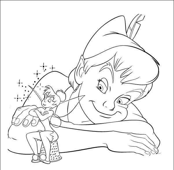 17 best images about peter pan disegni da colorare on pinterest for Disegni peter pan