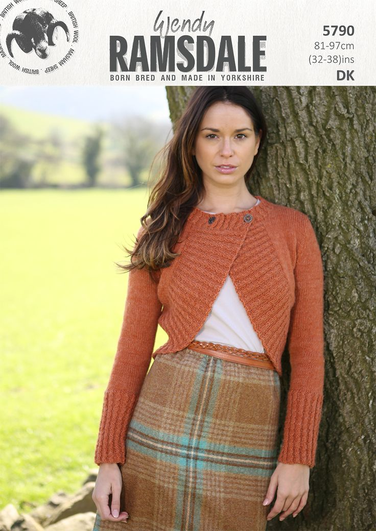 5790 - Wendy Ramsdale dk - born, bred and made in Yorkshire http://www.tbramsden.co.uk/catalog/patterns/womens/5790
