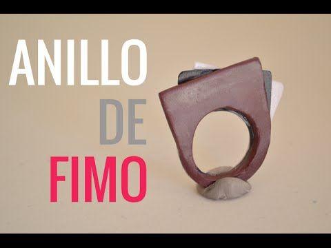 En este vídeo aprenderás a hacer un anillo moderno con arcilla polimérica en tan…