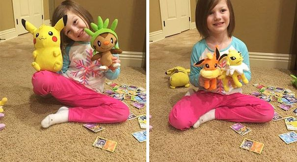 6-Year Old Hacked her mother's IPhone Touch ID to buy Pokemon gifts