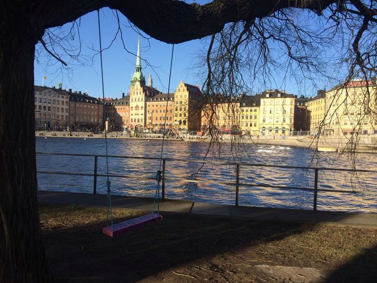 Stockholm, Sweden * I will never forget sitting on that swing looking out