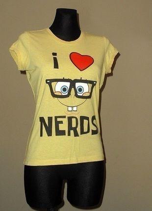 Kup mój przedmiot na #vintedpl http://www.vinted.pl/damska-odziez/koszulki-z-krotkim-rekawem-t-shirty/11101324-bluzka-tshirt-spongebob-m-love-bluzka