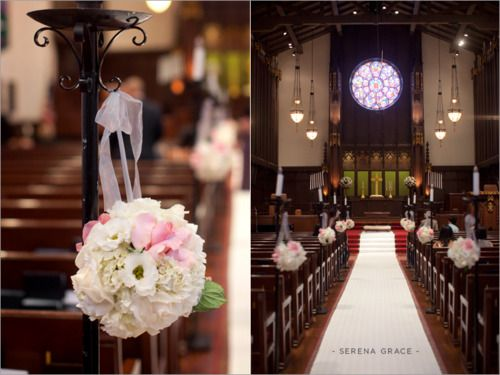 114 best church wedding images on pinterest church decorations ceremony decor junglespirit Gallery