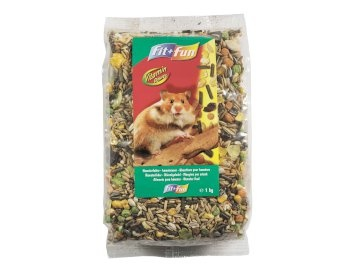 fit+fun Hamsterfutter 1kg EUR 1,29