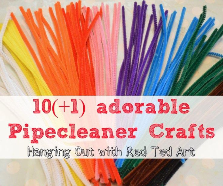 Pipecleaner Craft Ideas. Could be a good waiting room activity.