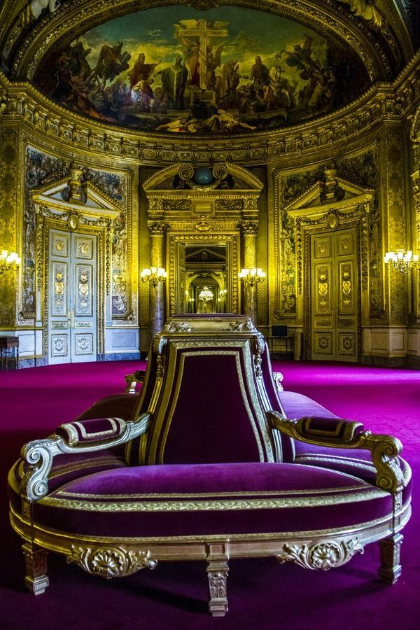 Interior of Luxembourg Palace | Picture Store  ,6th  arrondissement of paris , n…