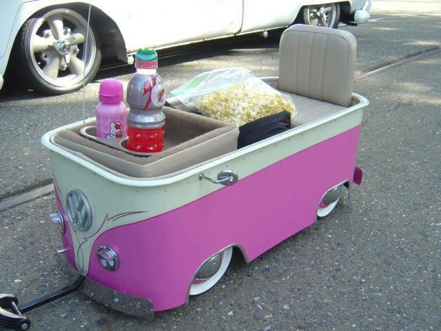 VW Bus Wagon for a kid! OMG!!!! this is the cutest i want one!!!!!