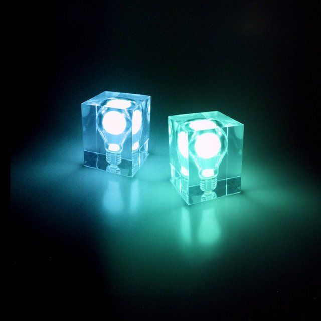 Glow In The Dark Bulb Cube In 2020 Bulb Mood Lights Party Lights