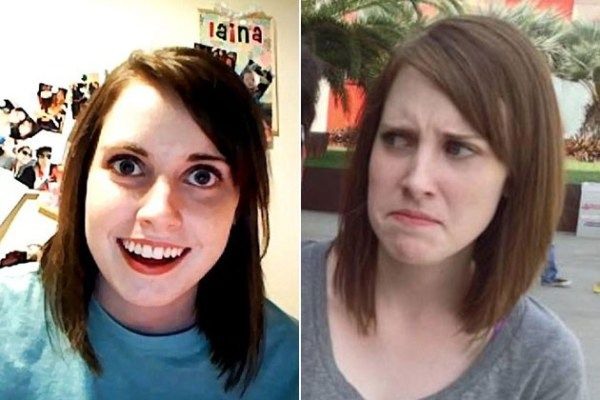 Memes In Real Life! Overly Attached Girlfriend Her name is ...