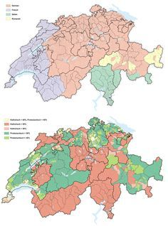 Language and Religion in Switzerland