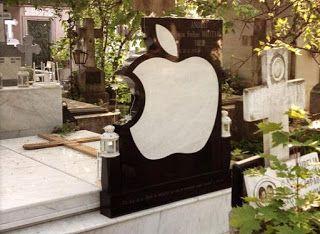 Уход за могилами в Кишиневе: Логотип Apple