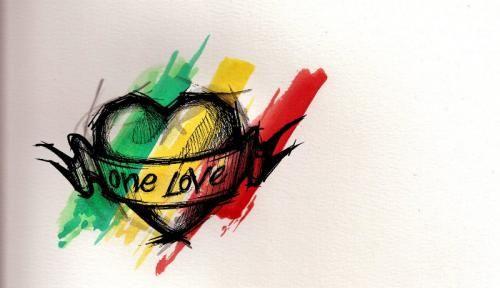 Rasta Bob Marley Upper Back Tattoo | Tattoo Designs