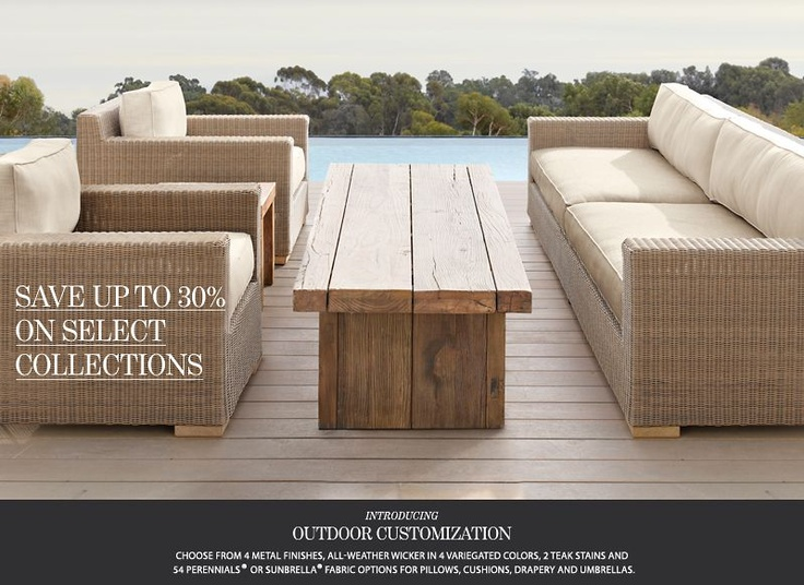 1000 ideas about Restoration Hardware Outdoor Furniture on Pinterest