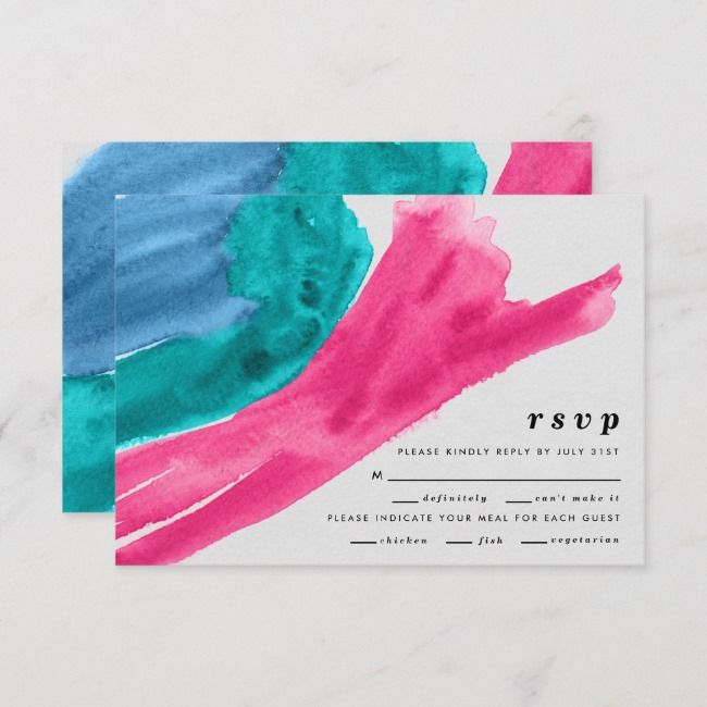 Create Your Own Flat Thank You Card Zazzle Com Wedding Rsvp