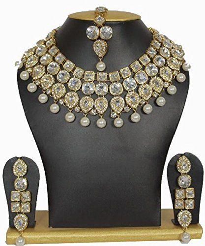 Dazzling Indian Bollywood Gold Plated Kundan Pearls Weddi... https://www.amazon.com/dp/B01MZD218A/ref=cm_sw_r_pi_dp_x_kfYHybDKXYJQ0