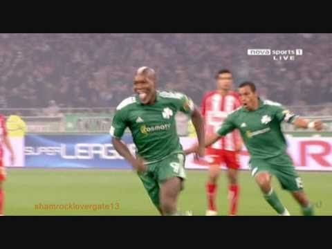 Djibril Cissé vs rats  Panathinaikos