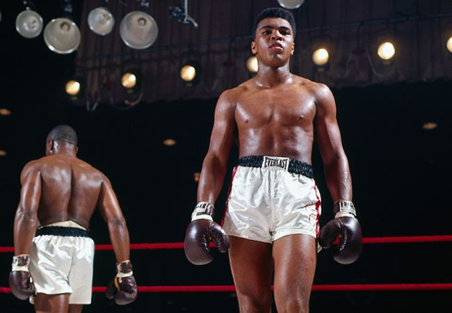Cassius Clay vs Sonny Liston. The first time.