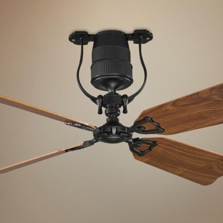 52 Concord Primera Matte Black Ceiling Fan