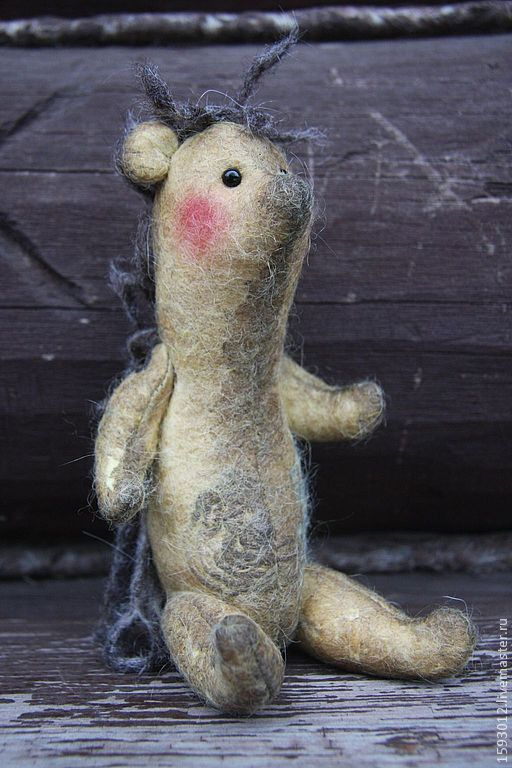 Купить Ежик Эдвард - коричневый, еж, ежик, текстильные игрушки, игрушка ручной работы