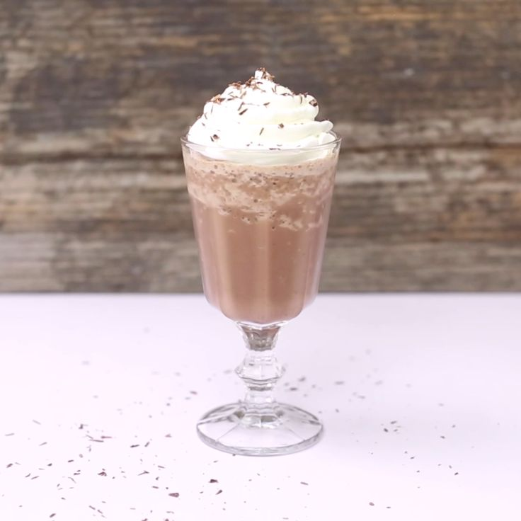 Have a sip of Serendipity with this delightful Frozen Hot Chocolate!