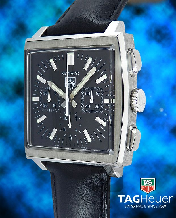 sports shoes 06d97 9a2d4 TAG Heuer】モナコ クロノは 世界初の角型防水時計を生み出した ...