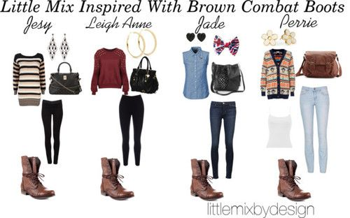 What To Wear With Brown Combat Boots - Yu Boots