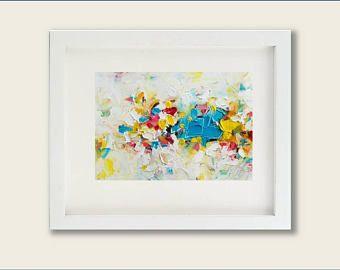 Aceite la pintura pintura al óleo pintura moderna pintura contemporánea espátula pintura arte pintura al óleo abstracta pintura abstracta