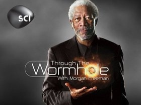 Discovery's Science channel through the wormhole
