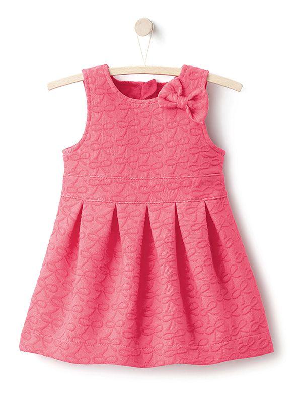 Vestido sem mangas, para bebé menina - rosa