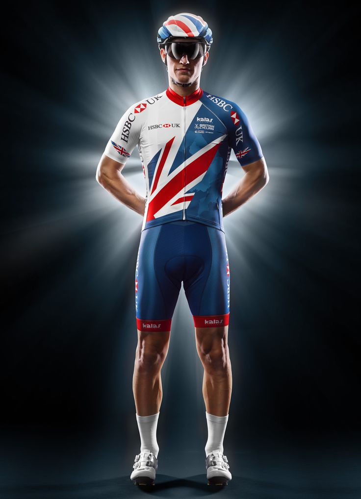 British Cycling kit for seasons 2017-2021, graphic design made by Clashdesign, Kalas sportswear race.