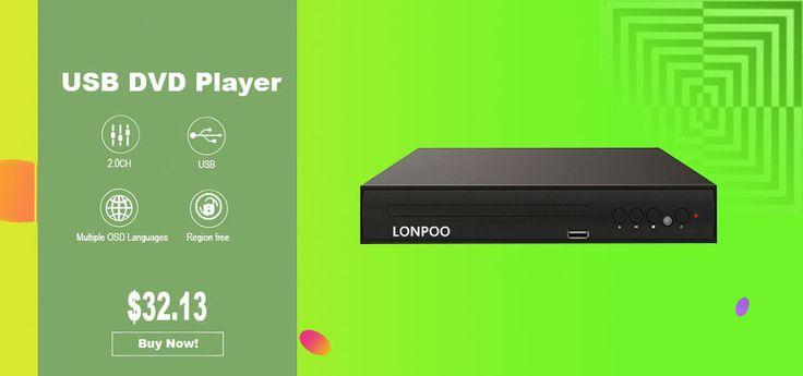 Mini Plastic Body DVD Player USB Scart Output DVD Player Multi Language TV DVD Player DIVX MPEG4 DVD CD RW MP3