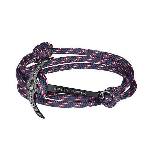 >> Click to Buy << 2017 New fashion jewelry multilayer riser alloy anchor bracelet man leather bracelets for men and women friendship bracelet #Affiliate