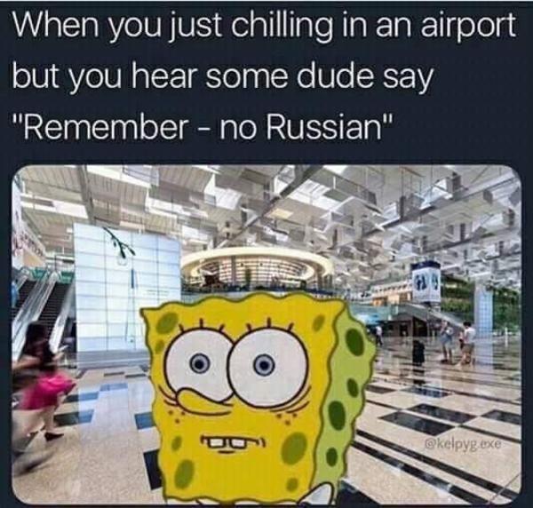 "[MW2] remember, no russian   No Russian / ""Remember - no ..."