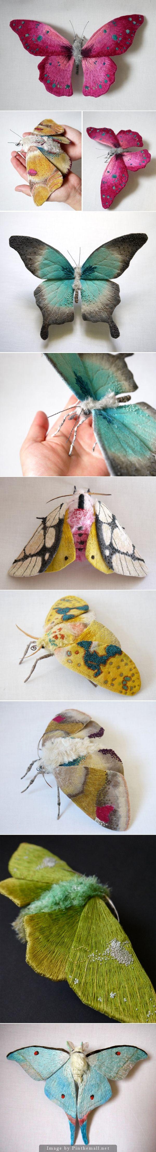 Yumi Okita textile sculptures