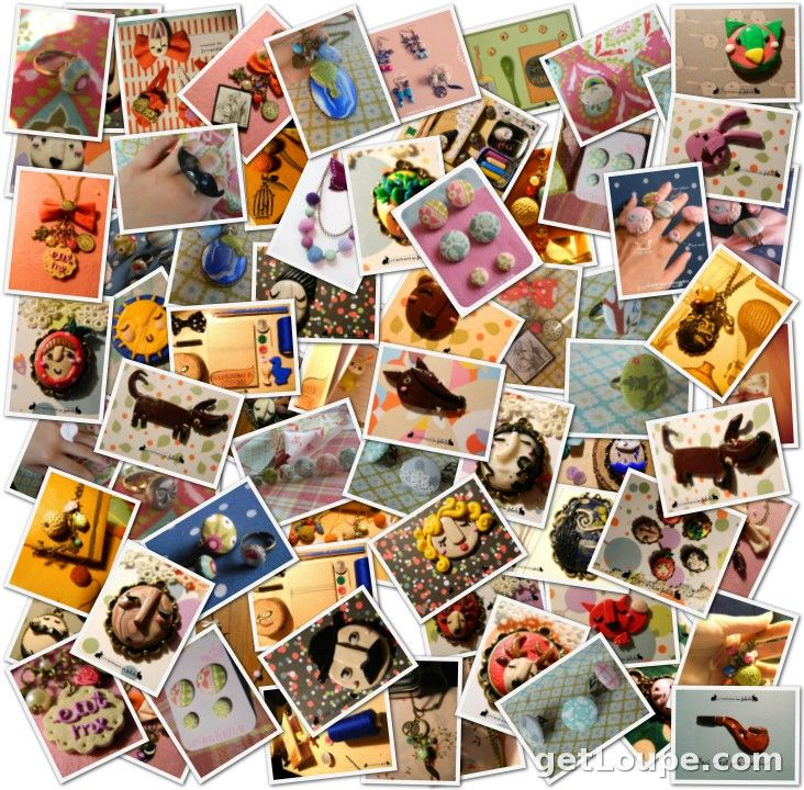 my creations collage
