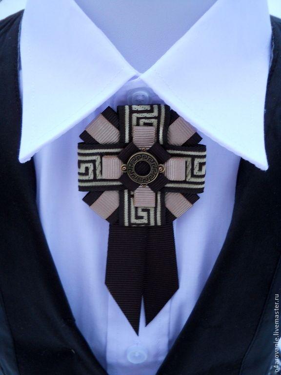 """Купить Брошь-орден""""Каппучино"""" - коричневый, орнамент, брошь, брошь ручной работы, брошь-орден"""