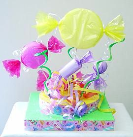 Candy Centerpiece...plus lots of ideas!