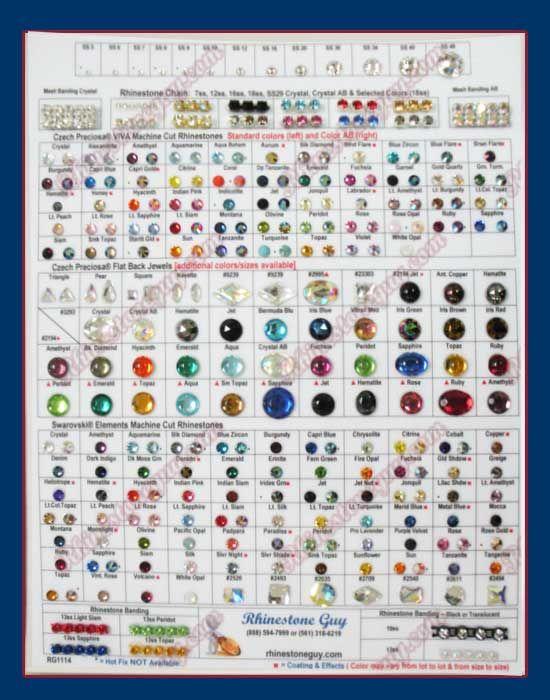 25+ unique Rhinestone guy ideas on Pinterest Grad cap decoration - sample general color chart